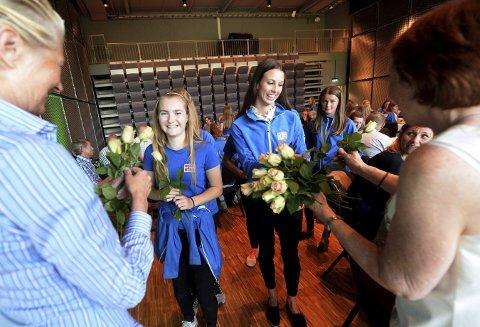 CHEERDANCE: KIF konkurransedans har blitt en av byens største jenteidretter og fikk velfortjent heder.
