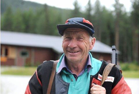 FYLKESMESTER: Hans Erik Rua, Jondalen, best i veteran 73.