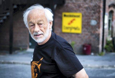 HOLD DERE HJEMME: Leder av jazzklubben, Tor Dalaker Lund vil ikke trekke folk til Mølla sånn som korona-situasjonen er.
