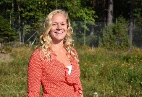 ENESTE KVINNE: Natanya Sukkot er eneste kvinne som er ansatt på Kongsberg Target Systems. Det trives hun med.