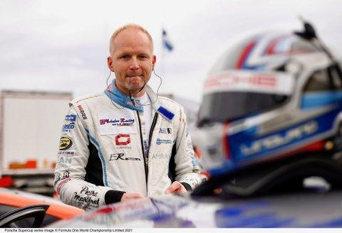 TREDJE: Roar Lindland endte på tredjeplass i proam-klassen i årets utgave av Porsche supercup.