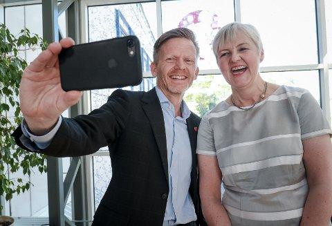 I juni ble det klart at Moss blir hovedsetet i regionen Viken. Ordfører Tage Pettersen og ny fylkesmann i region Viken Valgerd Svarstad Haugland. Med valgseier til borgerlig side fortsetter arbeidet med regionen.