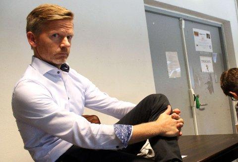 Tage Pettersen fra Moss er president Norges Ishockeyforbund.