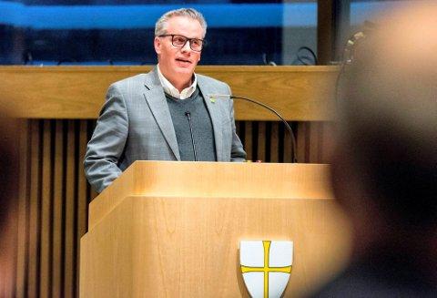 AMBISIØS: – Vi skal skape historiens første grønne stortingsrepresentant fra Nord-Trøndelag valgdistrikt, sier MDGs Tommy Reinås.