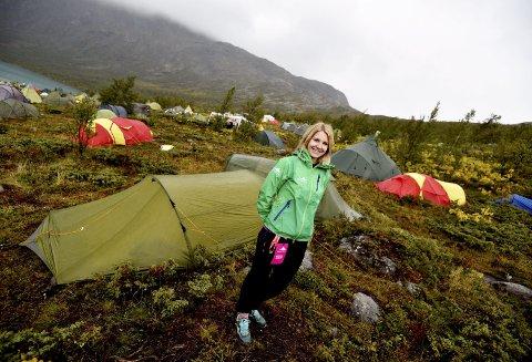 Strålende fornøyd: Festivalsjef Maritha Bjørnbeth var strålende fornøyd med årets festival. Til sammen 1.000 festivaldeltakere fra hele landet strømmet til Gjendesheim forrige helg.