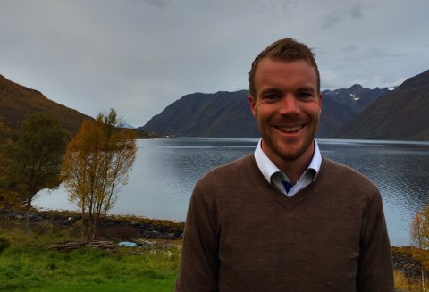 ORDFØRER: Kvænangens nye og unge ordfører Eirik Lonsnegaard Mevik takker for tilliten fra velgerne.