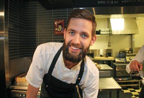 Dette ansiktet kjenner du om du er glad i kaffe. Arne Risø Nilsen er daglig leder på Risø mat og kaffebar - og snart skal han bli pappa!