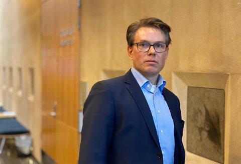 SAKSØKT: Tore André Gutteberg var salgssjef i Marine Supply AS, men hadde også IT-ansvar. To selskaper ble engasjert av Marine Supply for å gjennomgå databeslag. Gutteberg nekter for å ha tilegnet seg «hemmelig informasjon».