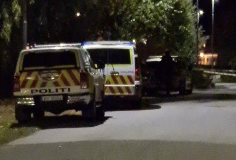 ARRESTERT: Politiet rykket fredag kveld ut til Dokka, hvor de arresterte to menn etter en voldshendelse i en bolig.