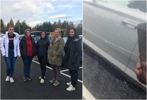 HAR FÅTT NOK: Lærerne Maren Bjørnerud, Heidi Nordby, Hege Elisabeth Engen, Guri Haavi og Kristin Mikkelsen vil få slutt på hærverket.