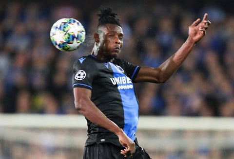 Vi tror ikke at Club Brugge og David Okereke prioriterer cupen. (AP Photo/Francisco Seco)