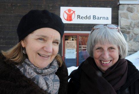 NABOHJELP: Leder Siri Munkvold (til venstre) og Mari Finess i Redd Barna Tynset.