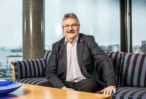 GODE RÅD: Konsernsjef i SpareBank 1 Østlandet. Richard Heiberg tror hedmarkingene får et like godt økonomidk år i 2019 som i 2018.