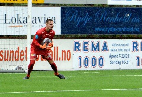 KLAR FOR VÅLERENGA: Kjetil Haug er lånt ut fra Sogndal til Vålerenga. Her fra tiden hans i Elverum i fjor høst.