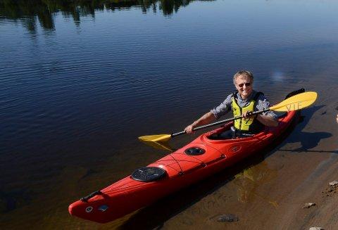 STOR AKTIVITET: Asgeir Rustad kan fortelle om stor aktivitet i padlegruppa i Vaaler IF.