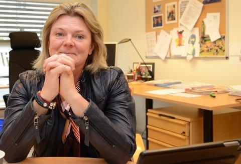 SPENT:  – Jeg skal innrømme at jeg er spent, veldig spent, sier Våler-orfører Lise Berger Svenkerud.