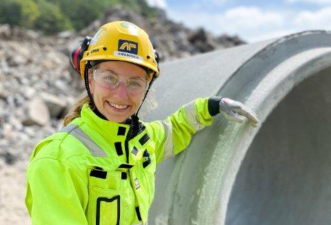 Ann-Mari Beitdokken startet som ingeniør, men steg raskt i gradene hos AF.