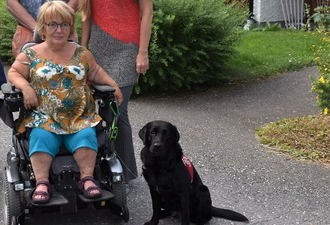 Peggy Rognan leier kommunal bolig i Færder, men de siste årene har utgiftene blitt så høye at hun sliter med å få ting til å gå rundt.