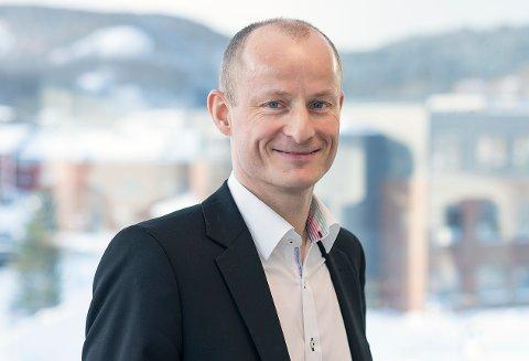 Prorektor for utdanning ved Nord universitet, Levi Gårseth-Nesbakk er fornøyd med årets søkertall.