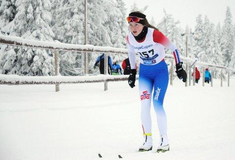 Vinner: Julie Jeistad fra Lismarka vant sin første sammenlagtseier i Tour de Hedmarken.