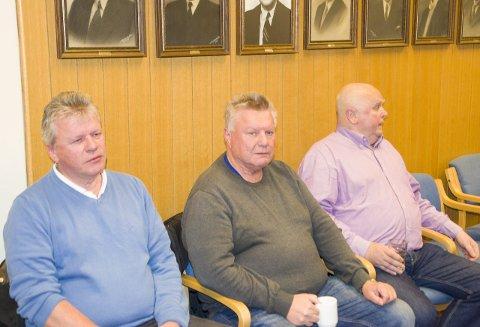 Arne Fegri, Hans Fegri og Martin Greftegreff var skuffet over lokalpolitikerne.