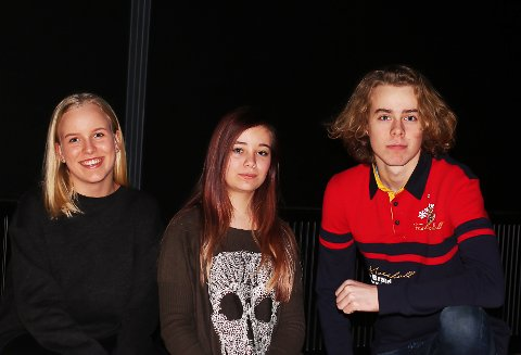 Sofie Krohn (16) fra Jevnaker skal være konferansier, Sara Qvan Olafsen (15) fra Ringerike skal synge og Rasmus Aanje (15) fra Hole skal spille gitar og synge under årets UKM på Jevnaker.