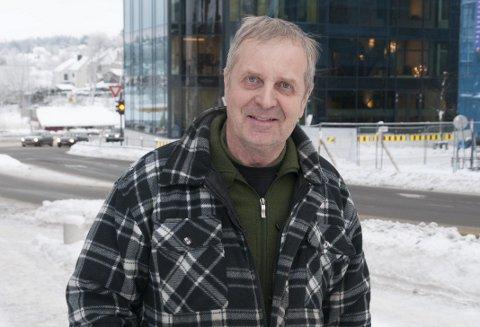 VINTER HER: Knut Skjervheim har levd en del under varmere forhold enn dette.