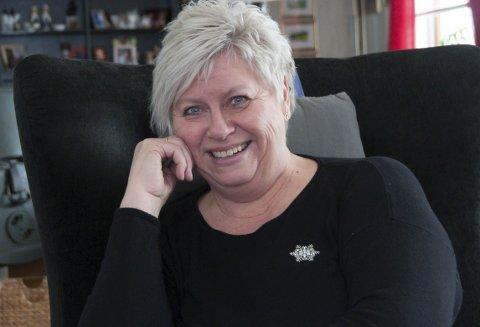 Hjemme har alltid vært barndomshjemmet for Anne-Britt Krokvik.