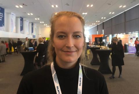FORESLÅS PÅ TINGET: Unge Høyre i Buskerud ivrer etter å få ungdomspartiets avtroppende leder Sandra Bruflot inn på Stortinget. Selv stiller hun seg til disposisjon.