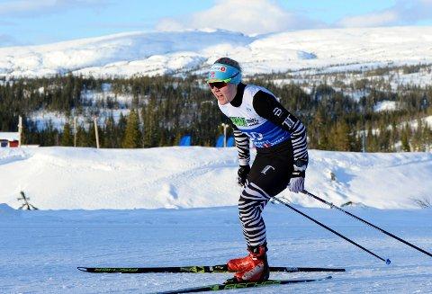 I FORM: Vilde Flatland gikk en bra NM-sprint i Meråker. Hun hadde en god følelse og ser frem til den avsluttende 15-kilometeren i helga