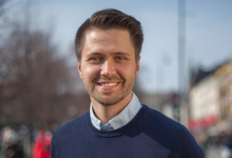 FOLKEAVSTEMNING: Fremskrittspartiets Bjørn-Kristian Svendsrud ber om at det gjennomføres en folkeavstemning om Vestfold og Telemark fylkeskommune skal splittes.