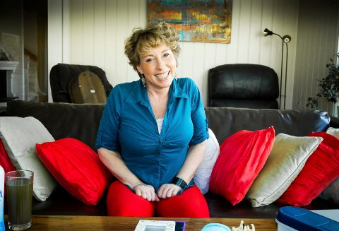 Leirsund: Lise Askvik har fått ny pupp - fra magen...