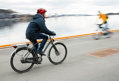ØKT SALG: Flere har gått til anskaffelse av sykkel de siste månedene.