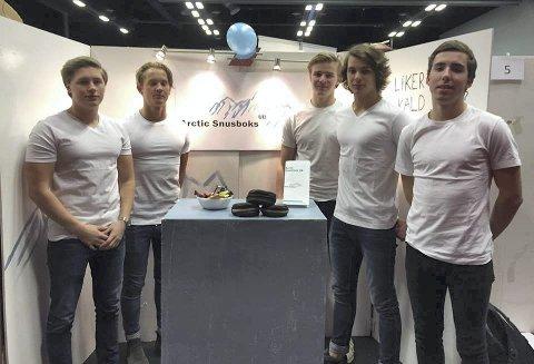 Personalet: Fra venstre: Håkon Lillelien Arne Berg, Sigurd Liltvedt, Markus Lund Andersen og Nicholas Boyd.