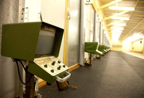 MODERNE: Forsvaret eide tidligere skytebanen på Fuglemyr i Hurum, og her installerte de blant annet elektroniske anvisere. Arkivfoto: Henning Jønholdt