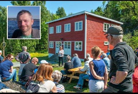 - Det har vært tidenes hyttesommer med fullt belegg på utleiehyttene, forteller Kyrre Hurum (innfelt) i Oslofjordens Friluftsråd. Var du en av dem som ikke fikk plass, så finnes det fortsatt noen plasser ledig to uker etter skolestart.