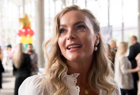Caroline Berg Eriksen har nå en formue på over to millioner.   Foto: Marit Hommedal / NTB scanpix