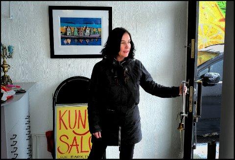 Trenger hjelp: Anette Ravneng søker etter en samarbeidspartner. Får hun ikke det, må hun endre på konseptet i galleriet.