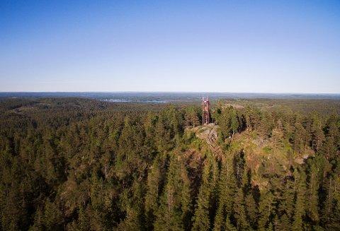 LINNEKLEPPEN: DNT Nedre Glomma skal blant annet gå til en av Østfolds høyeste topp – Linnekleppen søndag 12. mai.