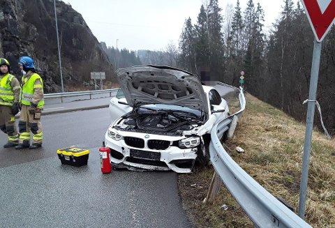 Trafikkulykke i Mysen.