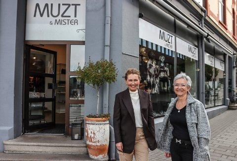 EIER TO BUTIKKER: Mariann Nilsen har kjøpt Muzt & Mister av Aase Thorbjørnsen.
