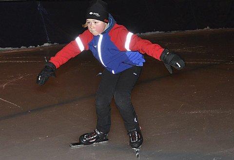 I BÅSTAD-DRAKT: Ole Tobias Wethelund gikk løp i Båstad ILs treningsdrakt.