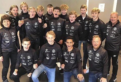 KNEPEN MARGIN: HK Eidsberg G16 sikret seg plass i Bringserien med minste mulige margin på målforskjell.