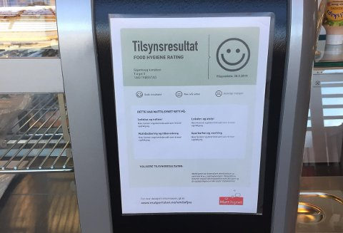 KONTROLL: Mattilsynets smilefjeskontrol er nå tilbake. Arkivfoto.