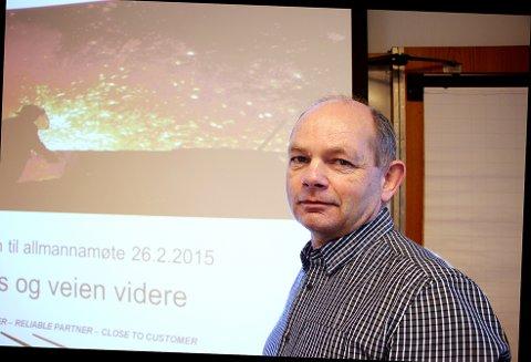 Stålverksdirektør Jarle Fjetland lanserer tanken om å dra de ansatte inn på eiersiden.