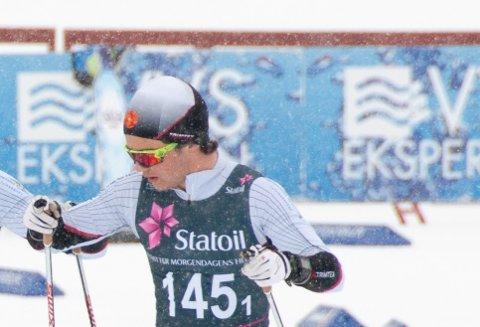 VANN I SULDAL: Erlend Widerøe Hennig vann seniorklassen i Suldalsrennet i helga.