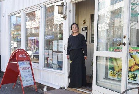 Kimanh Le trodde først hun fikk leid ut restauranten sin etter at den hadde ligget ute på markedet i lang tid.