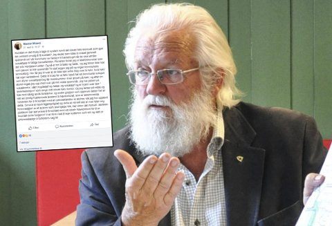 FORBANNET PÅ NAV-SYSTEM: Tidligere helsesjef og mangeårig politiker, Steinar Miland, er ikke imponert over Navs telefonsystem.