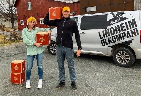 FORHÅNDSADVARSEL: Lindheim Ølkompani har mottatt en advarsel om skjenkeprikk knyttet til Facebookinnlegg.