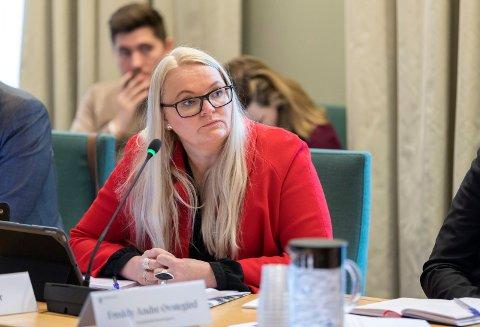 IKKE FORNØYD: Stortingrepresentant Åslaug Sem Jacobsen er ikke fornøyd med svaret hun fikk av justisministeren.